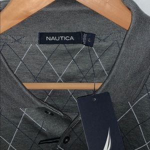 Nautica Shirts - NWT Nautica men's Polo Grey Flannel heather Large
